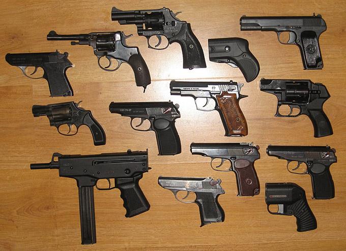 Огнестрельное оружие оружие в котором